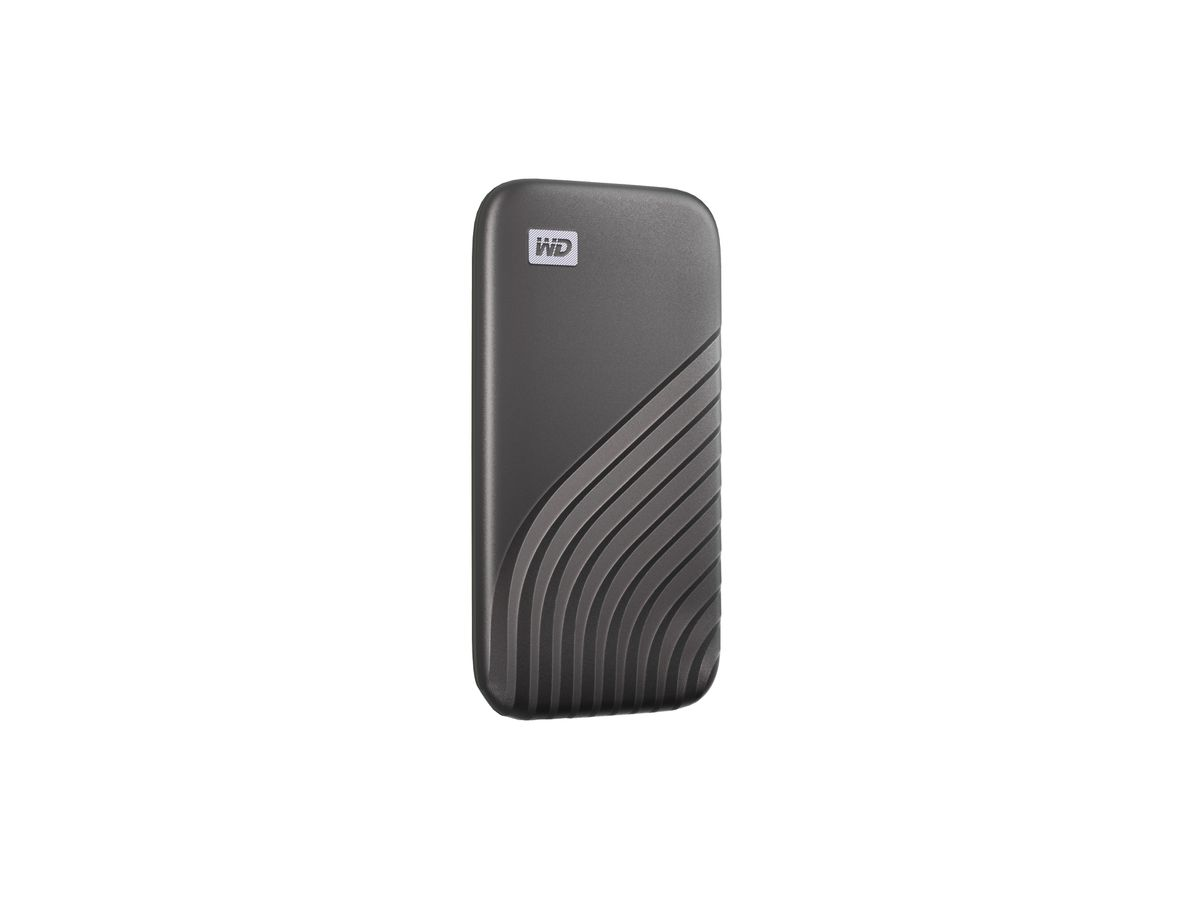 WD My Passport SSD 4TB space grey